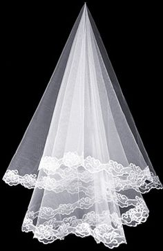 Sweep White #Veils Style Code: 07906 $29.99