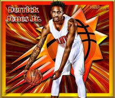 NBA Player Edit - Derrick Jones, Jr.