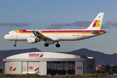 Airbus A321 Iberia Airplanes, Agriculture, Aviation, Aircraft, Funny, Airports, Planes, Funny Parenting, Hilarious
