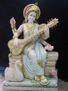 Saraswati Maa Statue offered by Moorti Udyog Prashikshan Kendra, a leading supplier of Saraswati Statue in Jaipur, Rajasthan. The Company was incorporated in 1980 and is registered with IndiaMART. Saraswati Murti, Saraswati Idol, Saraswati Statue, Saraswati Goddess, Goddess Lakshmi, Durga Maa, Hanuman, Saraswati Picture, Hindu Statues