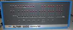 MITS Altair 8800 S-100 Computer.