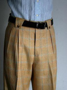 Men's Vintage Style Pants, Trousers, Jeans, Overalls Blue Wide Leg ...