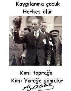 Şehit Mustafa Kemal ATATÜRK.