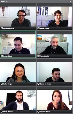 glaswerk testet OmniJoin, das innovative Videokonferenz-Tool des Agenturkunden Brother. Die Software erleichtert die Zusammenarbeit mit mehreren Personen über Distanz, ermöglicht durch Features wie Datenaustausch, Bildschirmfreigabe etc. Effizienz und Schnelligkeit und macht auch noch Spass. Künftig werden wir OmniJoin auch für Kundenmeetings im Rahmen von Projekten einsetzen. Jetzt bleibt nur noch die Frage offen, wie wir dann dem Kunden einen Kaffee anbieten…? ;)