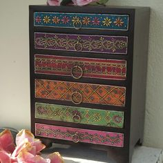 Mehandi 6 Drawer Chest