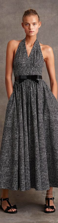 maxi gray dress @roressclothes closet ideas women fashion outfit clothing style Michael Kors: