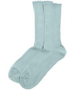 ecd178941a3 Women s Scallopped Pointelle Socks