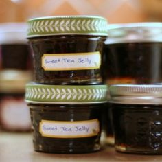 Sweet Tea Jelly-- this is MY next canning project!!!