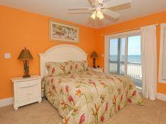 Dormitorios con paredes naranjas