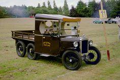 1933 Austin Seven Six Wheeler Lorry Replica Vintage Trucks, Old Trucks, Pickup Trucks, Pick Up, Austin Cars, 6x6 Truck, Automobile, Austin Seven, Camper Caravan