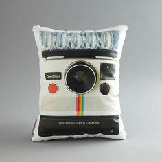 El cojín Polaroid.