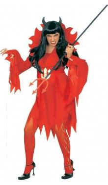 XXL Teufelin Kostüm