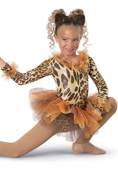 Weissman™   Tutu Cheetah Unitard