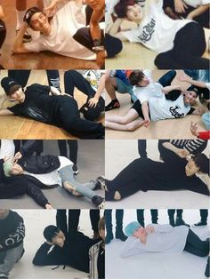 The best OTP ever, Yoongi and the floor XD