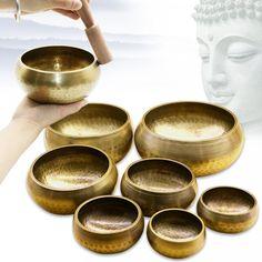 Tibetan Bowls, Singing Bowl, Sustainable Living, Future House, Euro, Eco Friendly, Copper, Wall Decor, Yoga