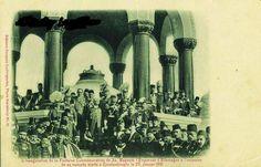 İstanbul 1901 Alman Çeşmesi'nin açılış töreni