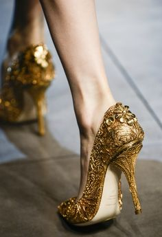 gilded age // Dolce and Gabbana AW 2013
