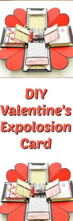 Exploding box for boyfriend / girlfriend. Gift Idea for Valentine's Day, Anniversary and even for Birthday. Learn how to make this lovely paper box in this step by step tutorial. I'm su…