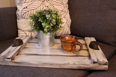 A personal favorite from my Etsy shop https://www.etsy.com/listing/493834126/rustic-wood-tray-farmhouse-tray-rustic