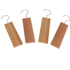 Household Essentials Cedar with Lavender Hang Up with Hook, 4-Count