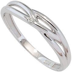 Dreambase Damen-Ring W P2 wesselton 14 Karat (585) Weißgo... https://www.amazon.de/dp/B0147RVNZM/?m=A37R2BYHN7XPNV