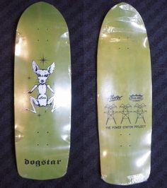 Alva Skates / Pool King Skates Dogstar Deck 10 x 33.5 WB16 Pea Green