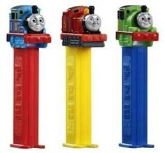 Thomas the Train PEZ Candy Packs: Display Thanks for the