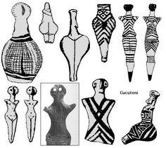 Cucuteni - Romania - 4500-4400 BC Ancient Goddesses, Gods And Goddesses, Historical Artifacts, Ancient Artifacts, Antique Jewellery Designs, Mother Goddess, Goddess Art, Effigy, Culture