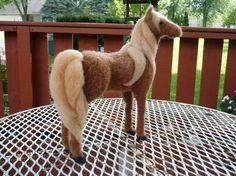 <3 Needle felted Chestnut Horse