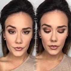 Copper colored smokey eye using the Bare Metals Palette by LimeLight.  #limelight #limelightbyalcone #makeup #professional #cosmetics