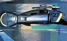 Syd Mead for Blade Runner