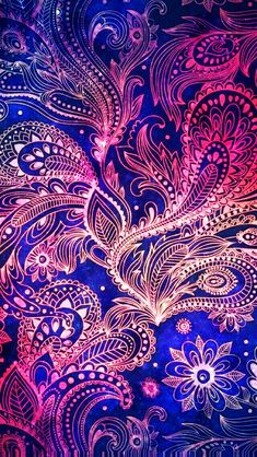 Her Wallpaper, Paisley Wallpaper, Graphic Wallpaper, Wallpaper Iphone Cute, Cellphone Wallpaper, Colorful Wallpaper, Pattern Wallpaper, Cute Wallpapers, Iphone Wallpaper Mandala
