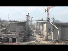 VIDEO: Construction on the Panama Canal expansion
