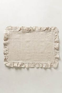 Discover unique cloth napkins to impress your guests and other decorative table linens at Anthropologie, including the seasons newest arrivals. Linen Placemats, Table Runner And Placemats, Linen Napkins, Cloth Napkins, Table Runners, Table Linens, Sewing Projects, Shabby Chic, Textiles