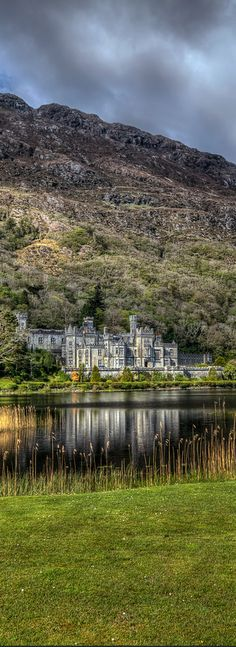 Kylemore Abbey or Castle, County Galway, Ireland                                                                                                                                                                                 More