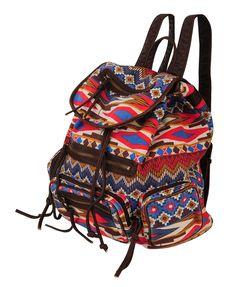 Tribal Print Backpack | FOREVER21 - 1000048039