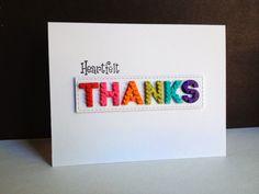 Heartfelt Thanks