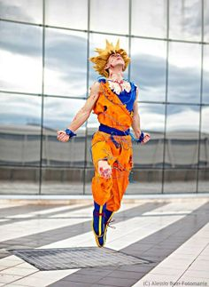 Character: Goku / From: Toei Animation's 'Dragon Ball' Anime Series / Cosplayer: Unknown