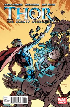 Precurser to Bullet Reviews:  Pull List Reviews: Thor The Mighty Avenger #8 - Comic Booked