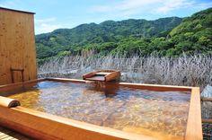 Book Fukiya in Hakone Yugawara Onsen (Kanagawa)--- Located on hi・・・ Hot Tub Backyard, Japanese Bath, Hakone, Higher Ground, Hot Springs, Baths, Bathroom Ideas, Outdoor Decor, Culture