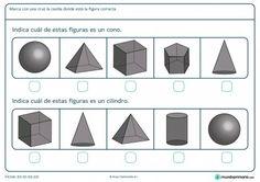 Ficha de indicar cuál es un cilindro para primaria