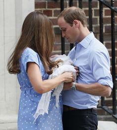 Duke, Duchess and Prince of Cambridge
