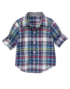 Plaid Shirt at Gymboree (Gymboree 3m-5T)