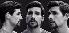 estilos de barba circular