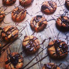 coconut dark chocolate oatmeal cookies