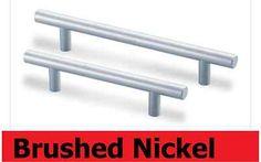"6"" Kitchen Cabinet Drawer Door Steel Handle Pull Knob Hardware Brushed Nickel A | eBay"