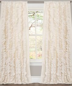 Look what I found on #zulily! Ivory Belle Curtain Panel #zulilyfinds