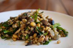 Harvest Grain Pilaf with Portabella Mushrooms {Via @Leslie Lippi Lippi Lippi Durso}
