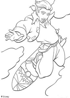 Treasure Planet coloring book pages - Treasure Planet 4