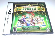 Nintendo DS Dsi Dsl BRAND NEW Game INTERACTIVE STORYBOOK DS SERIES 3